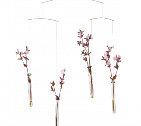 Mobile Flying Flowers